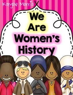 Women's History Month Bundle Kayse Morris Teachers Pay Teachers