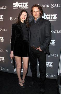 'Outlander' Stars Sam Heughan & Caitriona Balfe Dating Or Just Great Friends?