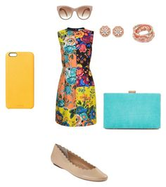 """Peach Pop"" by hanna-debruhl on Polyvore featuring Diane Von Furstenberg, BillyTheTree, New Look, Chaos, Shashi and VANELi"