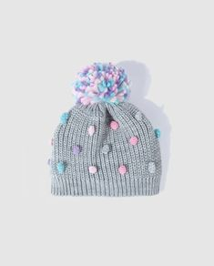Crochet Baby Beanie, Baby Knitting, Knit Crochet, Crochet Hats, Cute Winter Hats, Baby Winter, Knitting Projects, Crochet Projects, Knitting Patterns