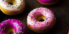 The Greatest Homemade Doughnut Recipes You'll Ever Find – Food - Yanna's Donuts Laden Custard Donuts Recipe, Chocolate Glazed Donuts Recipe, Chocolate Cake Donuts, Blueberry Glaze Recipes, Orange Glaze Recipes, Mini Donut Recipes, Homemade Doughnut Recipe, Cupcakes, Sweet Potato Pecan Pie