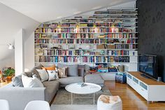 Floor to Ceiling Library