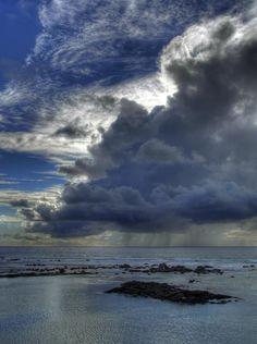 Squall on the Kona coast