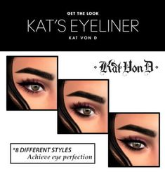 Kat Von D Eyeliner for The Sims 4