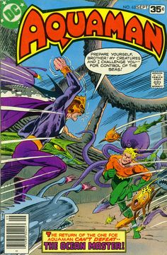 Aquaman 63, September 1978, cover by Jim Aparo