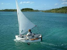 "sailing dinghy caribbean  Portland Pudgy 7'8"" x 4'2"""