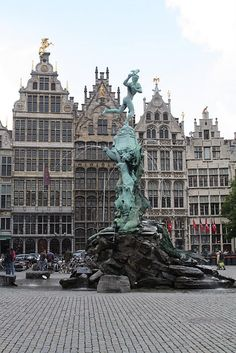 antwerp- I have a picture of us standing in front of here