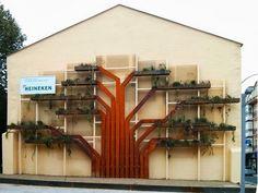 Árbol jardín vertical