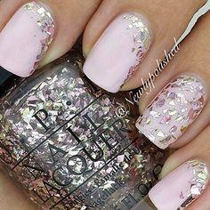 See more about pink nails, nail arts and nails. bridalnail