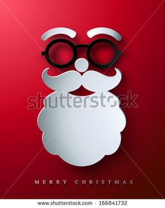Stock Images similar to ID 225626866 - merry christmas card with...