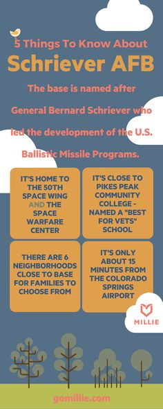 5 Things To Know About Schriever Air Force Base in Colorado Springs, CO - Visit gomillie.com to find out more!
