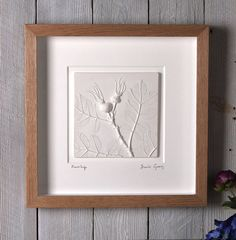 I Cast Plants, Flowers & Objects In Plaster To Create Sculptural 3d Images