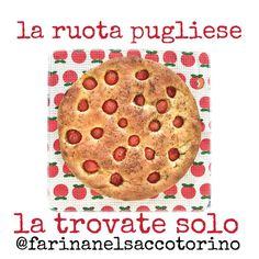 Siete tornati dalle vacanze e avete nostalgia della Puglia? noi abbiamo la #ruotapugliese proprio come si fa giù venite a provarla @farinanelsaccotorino  #pizza #focaccia #pomodorini #olioevo #origano #foodporn #foodphotography #italianfood #cucinapugliese