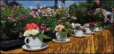 Het thema was Tea in the Garden