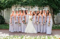 Romantic Lilac Fairmont DC Wedding - United With Love | Lisa Boggs Photography | Lilac Off the Shoulder Bridesmaid Dresses