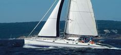 Outremer 55, 4+2 Cabins, 10+2 Berths. Available for Charter in France.