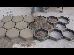 forma sextavada para bloquete no lugar ( METALÚRGICA JANUTT ) - YouTube