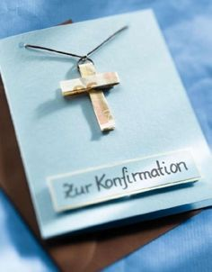 Die 9 Besten Bilder Von Konfirmation Homemade Gifts Diy Presents