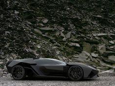 Lamborghini bat mobile!