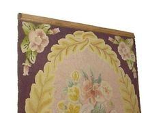 Any Size to 65 Inch Clamping Style Quilt Rack Throw Rug Hanger - Pine