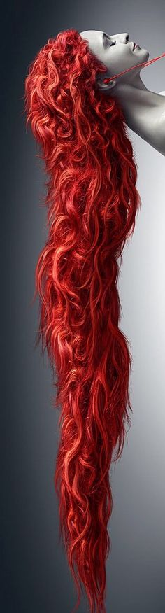 Long Red Hair  ❤