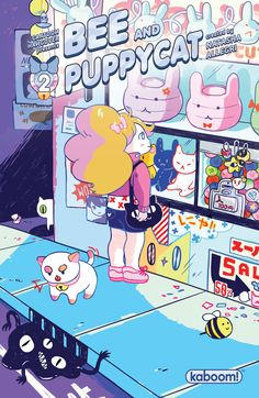 """""""Bee and PuppyCat' Goes to Second Printing - Word of The Nerd Bravest Warriors, Dibujos Cute, It Goes On, Cultura Pop, Anime, Art Plastique, Cute Cartoon, Cute Art, Art Reference"""