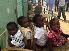 Beautiful Children in the Slums of Kenya