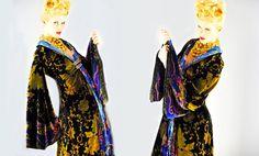 Silk Velvet Embroidery Kimono by Marta Fernandez