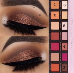 Stunning makeup look using Anastasia Beverly Hills Modern Renaissance Palette and LOTUS No. 510 3D mink lashes