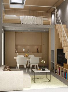 The Artful Shoebox Apartment, Workstead Edition | Stove, Hoods and ... | {Altholzküchen modern 55}