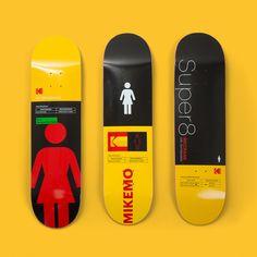 Siren S Logo Tiger Yellow Skateboard Deck