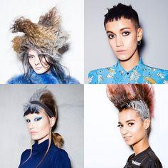 Algunos de los estilismos de la línea Avant Garde presentados durante el evento Mainstage. #toniandguy