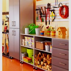 How To Organize Your Entire House- Garage Organization