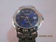 Raymond Weil Men's Tango 5560 Swiss Watch Stainless with Blue Dial in Jewelry & Watches, Watches, Wristwatches | eBay