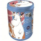 Tasteful Moomin cookies for the whole family. The beautiful tin box will make you happy long after the cookies are gone. Moomin Shop, Ideal Protein, Tin Boxes, Coffee Cans, Are You Happy, Make It Yourself, Cookies, Mugs, Cool Stuff
