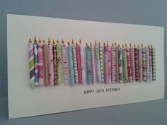 handmade happy birthday cards pinterest - Google Search