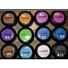 MAC eye makeup