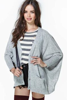 Nasty Gal Moonlight Cardi