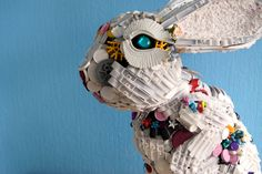 The Cool Hunter - Robert Bradford - Recycled Toy Sculptures