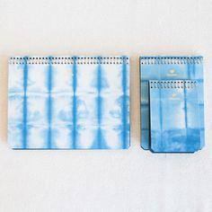 Cloud Blue Shibori Notebook