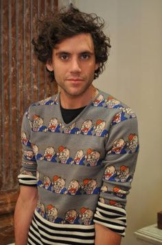 it's official! Mika just killed me - Mika in Kensington, London, on 28th April 2010