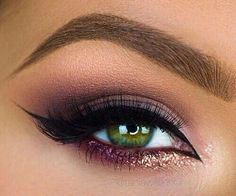Gorgeous Makeup: Tips and Tricks With Eye Makeup and Eyeshadow – Makeup Design Ideas Beautiful Eye Makeup, Pretty Makeup, Love Makeup, Kiss Makeup, Makeup Inspo, Hair Makeup, Makeup Goals, Makeup Tips, Makeup Ideas