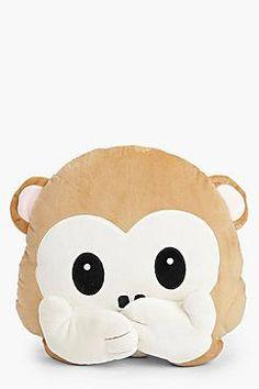 Monkey Speak No Evil Cushion