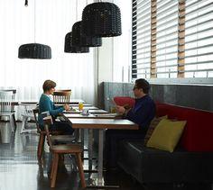 LEMAYMICHAUD   ALT   Halifax   Architecture   Design   Hospitality   Hotel   Lobby   Reception   Lighting   Tables   Seating   Natural Light Lobby Reception, Hotel Lobby, Light Table, Hospitality, Natural Light, Architecture Design, Tables, Lighting, Furniture