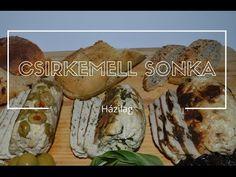 Top 3 csirkemell sonka - házilag - YouTube Baked Potato, Potatoes, Baking, Ethnic Recipes, Food, Potato, Bakken, Essen, Meals