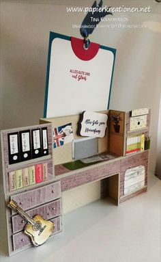 Bench-fold card für die Verabschiedung eines Lehrers