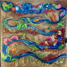 Johanna Basford   Colouring Gallery Inspirational Coloring Pages #inspiração #coloringbooks #livrosdecolorir #jardimsecreto #secretgarden #florestaencantada #enchantedforest #reinoanimal #animalkingdom #adultcoloring #milliemarotta