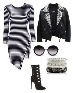 """Untitled #186"" by rayame ❤ liked on Polyvore featuring Balmain, GlassesUSA and Alaïa"