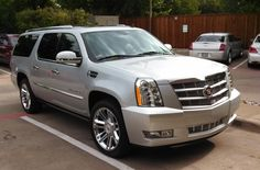 The luxury Cadillac Escalade fits 7 passengers comfortably.