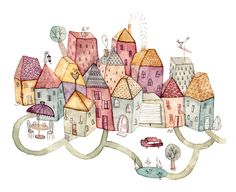 Sö-l'y-laisse : le blog de Solenn Larnicol...Draw friends' future homes and links to them